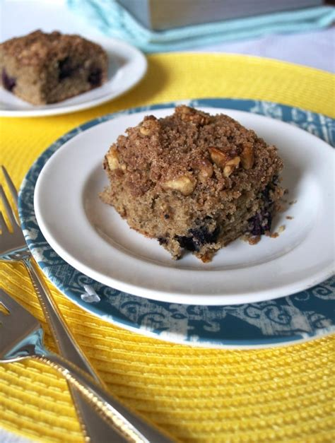 It replaces some of the butter found in most coffee cakes and adds a decidedly sweet taste and moist crumb. 301 Moved Permanently