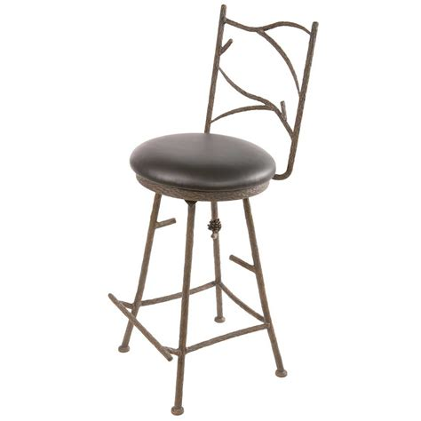 iron counter stool pine barstool 25 quot 1927
