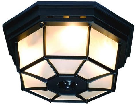 Heath/zenith Black Octagonal 360-degree Decorative Ceiling