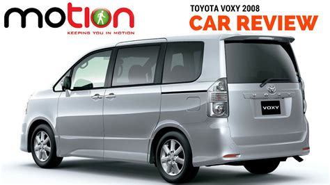 Review Toyota Voxy by Toyota Voxy Review