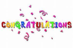 Free Congratulations Clipart Pictures Clipartix