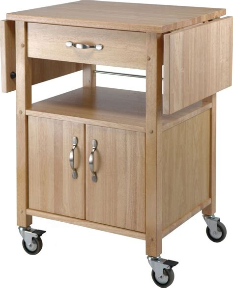 Kitchen Cart Rolling by Rolling Kitchen Cart With Drop Leaf Woodworking Projects