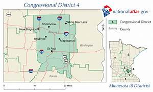 Minnesota Congressional District 4 Map and 112th Congress ...