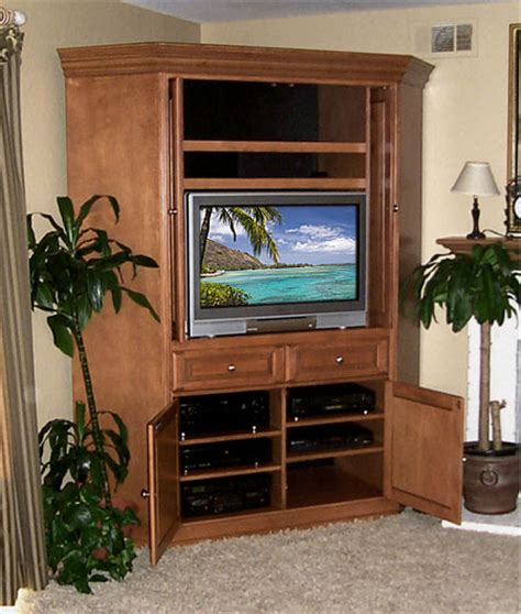 Corner TV Entertainment Cabinets