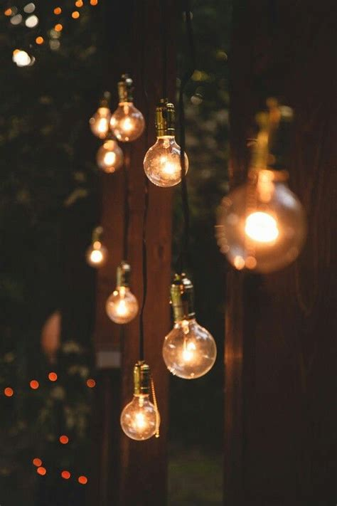 Lights Outdoor Wallpaper by Lightbulb String Lights Home Decorations In 2019