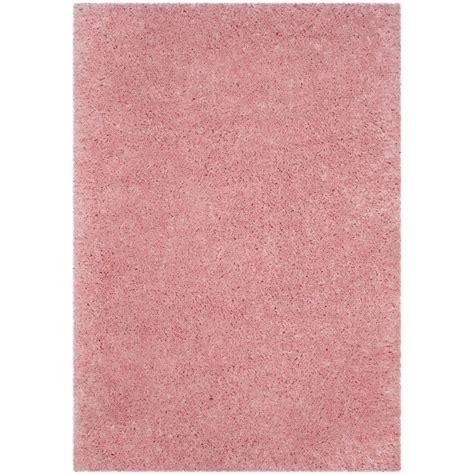 light pink rug safavieh polar shag light pink 8 ft x 10 ft area rug