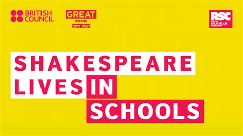 shakespeare lives schools pack