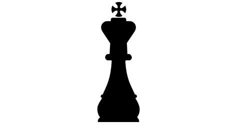 black king size king chess shape free shapes icons