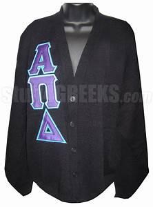 alpha pi delta greek letter cardigan black With greek letter cardigan sweaters