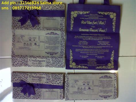undangan nikah unik batik pesanan april mei
