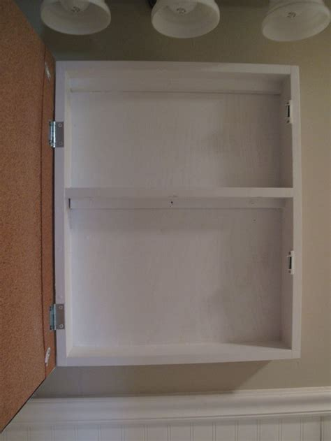 build a medicine cabinet how to make your own medicine cabinet bath pinterest