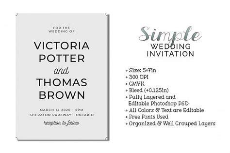 simple wedding invitation    images simple