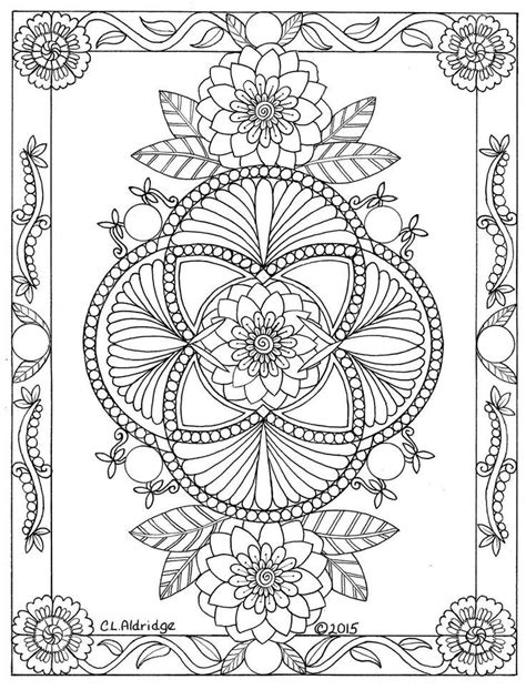 Pin by Ghyslaine Klein on mes pages   Mandala coloring