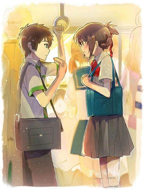 Anime Couple Terpisah Kimi No Nawa 188 Best Images About Kimi No Na Wa Your Name 2016