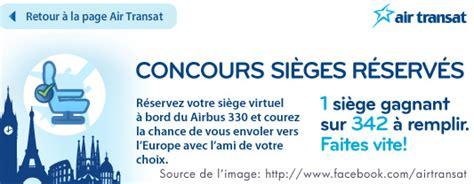 air transat reservation siege en ligne compagnies aériennes et médias sociaux webketing fr