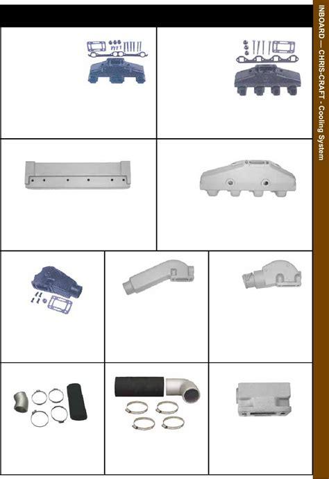 chris craft sierra marine parts catalog page