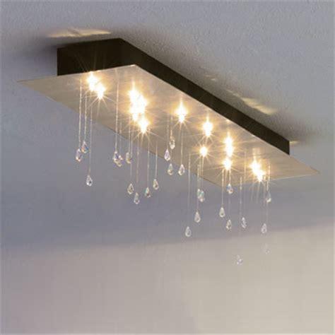 rectangular ceiling mount modern flush