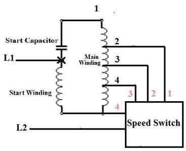 Electric Ac Wiring Diagram With Three Fan by Hi I An Aloha 3 Speed Oscillating Pedastal Fan