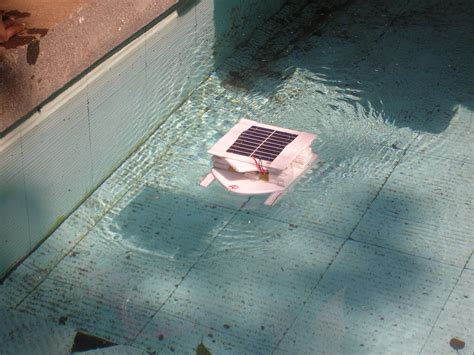 solar powered boat prototype