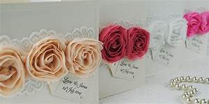 Customer showcase for 3d rose wedding invitations