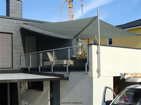 pina design sonnensegel sonnensegel f 252 r den balkon in premium qualit 228 t pina design 174