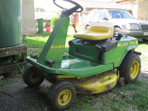 tondeuse a siege occasion troc echange tracteur tondeuse deere rx95 très bon