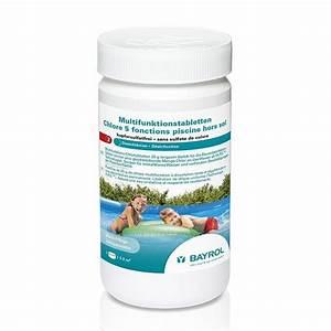 Chlore Pour Piscine : chlore 5 fonctions pour piscine hors sol 1 kg bayrol ~ Edinachiropracticcenter.com Idées de Décoration