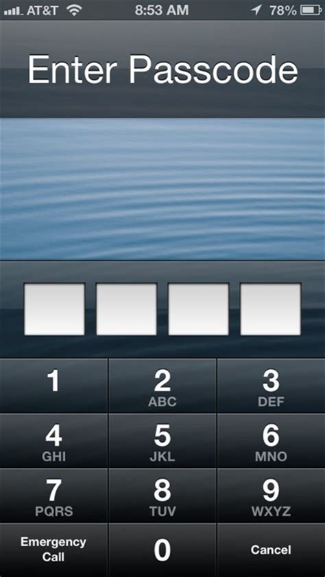 iphone locked how to set a passcode on lock screen of iphone 5