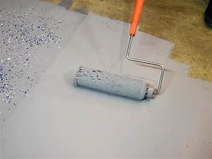 How to paint a garage floor with epoxy how tos diy for Can i paint a concrete floor