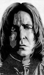 Alan Rickman as Severus Snape by LilaeaBluecoat   Severus ...