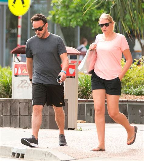 Upbeat Ant McPartlin sports Newcastle United shorts as he ...