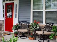best small front patio design ideas Ideas For Small Front Porch Decorating