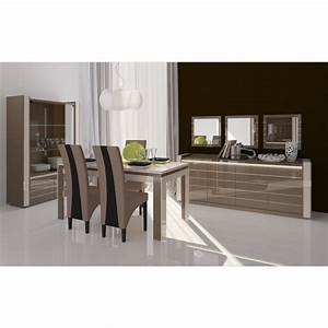 meuble de salon salle a manger lina 9 elements achat With meuble de salle a manger avec salon et salle À manger