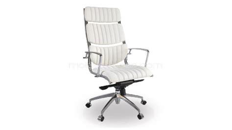 bureau simple blanc fauteuil bureau cuir blanc fabulous fauteuil bureau cuir