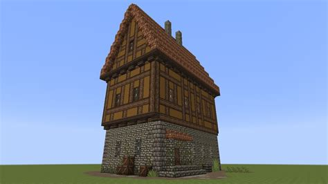 minecraft fachwerkhaus   timbered house youtube