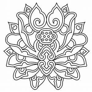 Dessin Fleurs De Lotus : fleur de lotus mandala coloriage fleur de lotus mandala en ligne gratuit a imprimer sur ~ Dode.kayakingforconservation.com Idées de Décoration