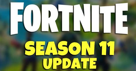 Here are some patch notes. Fortnite Update Time Today: Season 11 Patch Notes latest ...