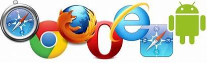 Browser Logos Jederzeit Gaengigen Internetbrowser Ueberall Ueber