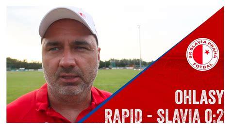 Ohlasy  Rapid  Slavia 02 Youtube