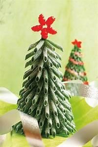 Weihnachtsbaum Selber Basteln : weihnachtsbaum aus gr nen nudeln selber basteln basteln ~ Lizthompson.info Haus und Dekorationen