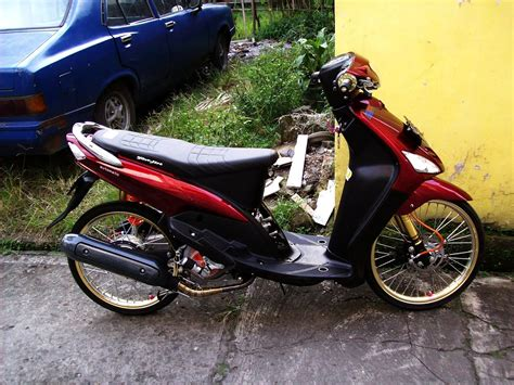 Modifikasi Mio Sporty Murah by Koleksi Modifikasi Motor Mio Sporty 2009 Terbaru
