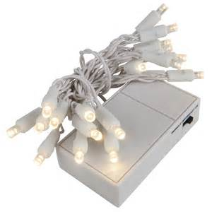 battery operated lights 20 warm white battery operated 5mm led lights white wire