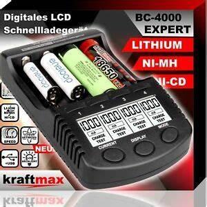 Ladegerät Für 18650 Akkus : bc 4000 expert universal akku ladeger t f r lithium und ni ~ Watch28wear.com Haus und Dekorationen