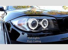 Depo Headlight 2011 BMW 128i YouTube