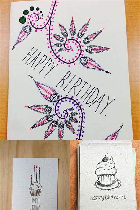cute diy birthday card ideas handmade birthday cards