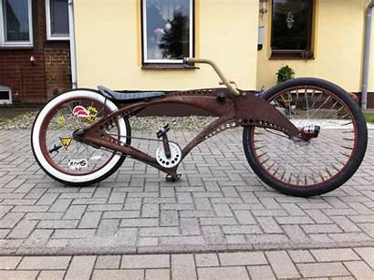 Rusty Rod Bicycle Patina Rat