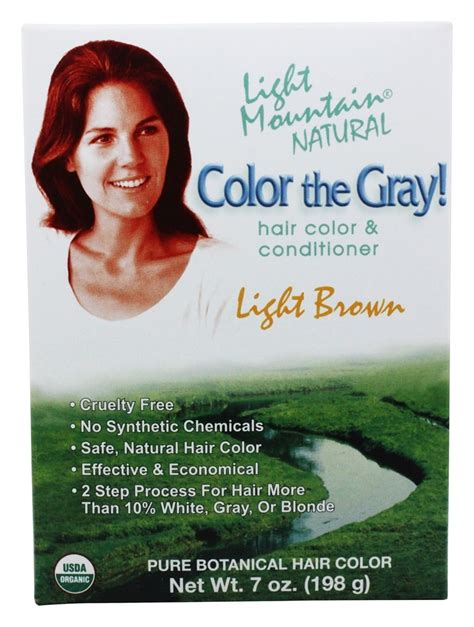 Buy Light Mountain Natural Color The Gray Hair Color