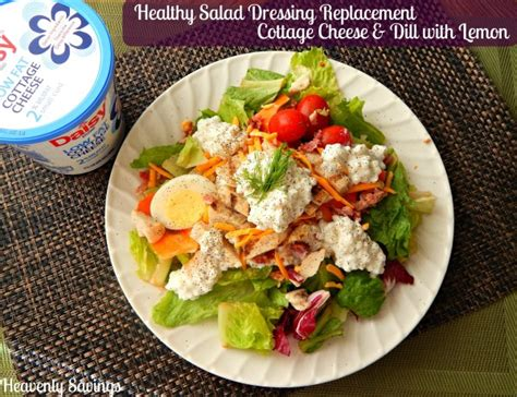 healthy cottage cheese recipes healthy salad dressing replacement recipe with