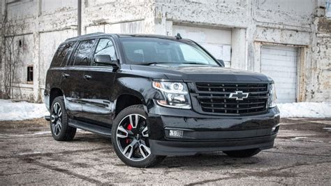 chevrolet tahoe rst review ratings specs