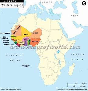 1.This is a picture of the countries in Western Africa ...